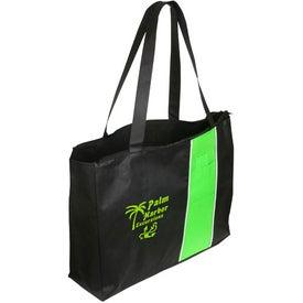 Personalized Kingston Zipper Tote Bag