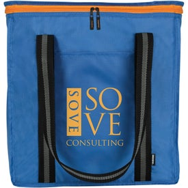 Koozie Block Grocery Tote Cooler Bag