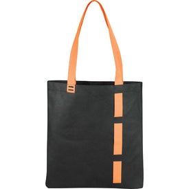 Branded Ladder Loop Convention Tote