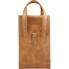 Monogrammed Laguiole Double Wine Tote