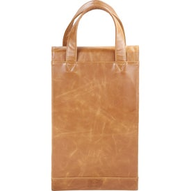 Imprinted Laguiole Double Wine Tote