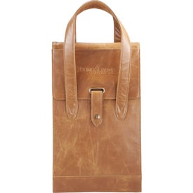 Laguiole Double Wine Tote Printed with Your Logo