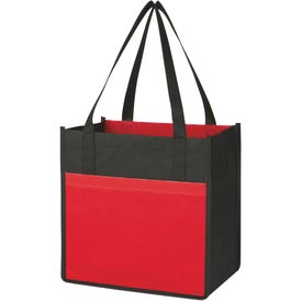Lami-Combo Shopper Tote for Advertising