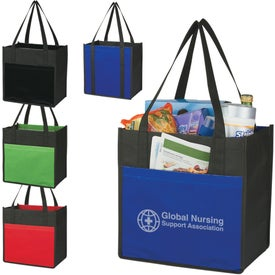 Lami-Combo Shopper Tote for Your Company