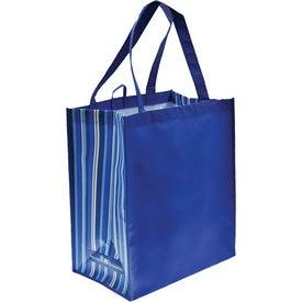 Monogrammed Laminate Tote Bag