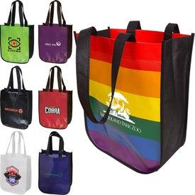 Laminated Fashion Tote Bag