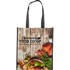 Laminated Grocery Tote Bags