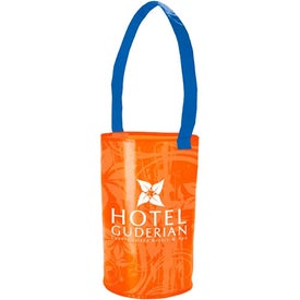 Laminated Non-Woven Barrel Tote Bag