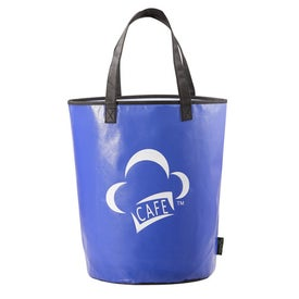 Laminated Non-Woven Basket Tote for Advertising