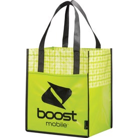 Branded Laminated Non-Woven Big Grocery Tote