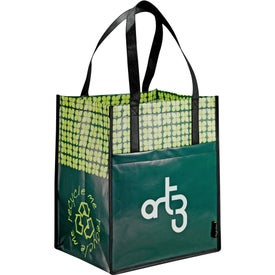 Laminated Non-Woven Big Grocery Tote for your School