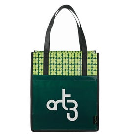 Advertising Laminated Non-Woven Big Grocery Tote