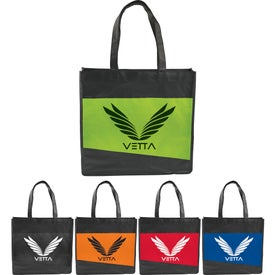 Laminated Non-Woven Convention Tote Bag