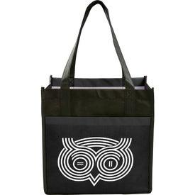 Laminated Non-Woven Cube Tote Bag