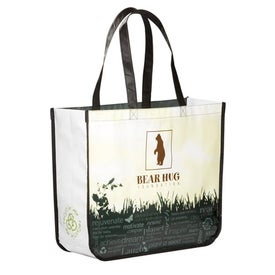 Non-Woven Laminated Large Shopper Tote