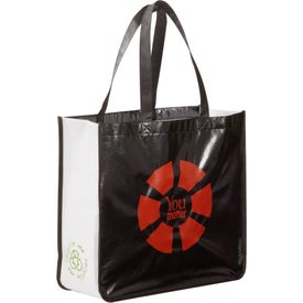 Laminated Non-Woven Large Shopper Tote with Your Logo
