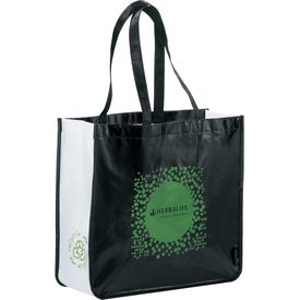 Laminated Non-Woven Large Shopper Tote Branded with Your Logo