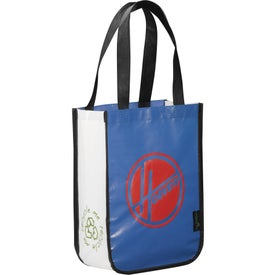 Laminated Non-Woven Small Shopper Tote Imprinted with Your Logo