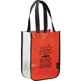 Logo Laminated Non-Woven Small Shopper Tote