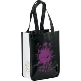 Printed Laminated Non-Woven Small Shopper Tote