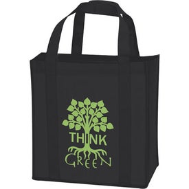 Laminated Non-Woven Grocery Tote for Marketing