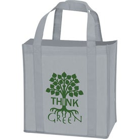 Logo Laminated Non-Woven Grocery Tote