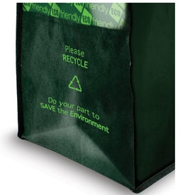 Customized Laminated Non Woven Grocery Tote