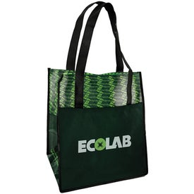 Branded Laminated Non Woven Grocery Tote