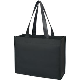 Laminated Non-Woven Shopper Tote Imprinted with Your Logo