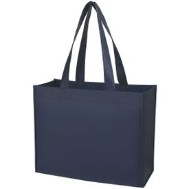 Laminated Non-Woven Shopper Tote Printed with Your Logo