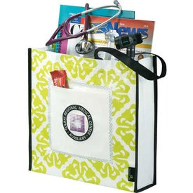 Company Laminated Non-Woven Retro Convention Tote