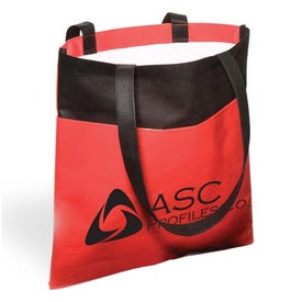 Imprinted Laminated Non-Woven Duo-Tone Tote - 80GSM