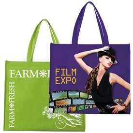 Landscape Tote with Your Slogan