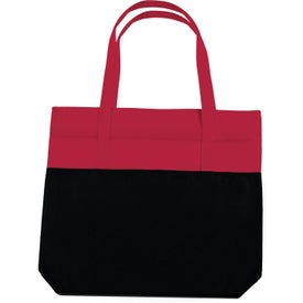 Large 2-Tone Tote Bag for your School