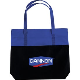 Promotional Large 2-Tone Tote Bag