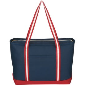 Large Cotton Canvas Admiral Tote for Customization