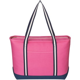 Large Cotton Canvas Admiral Tote Giveaways