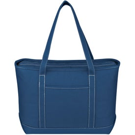 Large Cotton Canvas Yacht Tote for Promotion