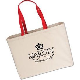 Large Cotton Tote Bag for Advertising