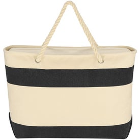 Customized Large Cruising Tote Bag with Rope Handles