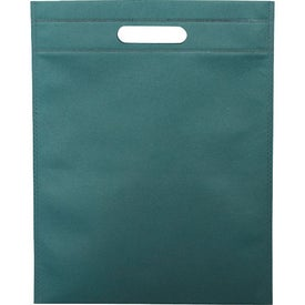 Large Freedom Heat Seal Exhibition Tote with Your Slogan