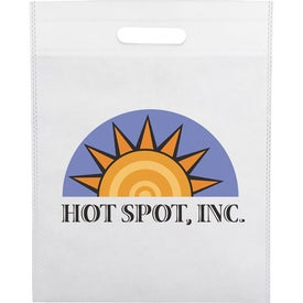 Large Freedom Heat Seal Exhibition Tote for your School