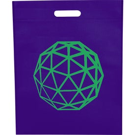 Large Freedom Heat Seal Exhibition Tote for Marketing