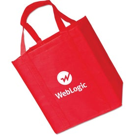 Large Grocery Tote Bag Printed with Your Logo