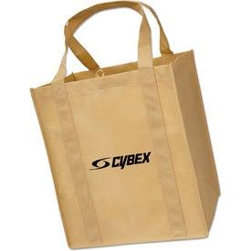 Logo Large Grocery Tote Bag