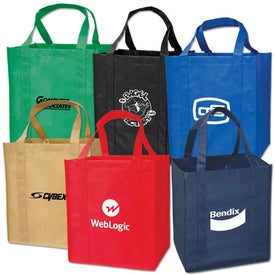 Personalized Large Grocery Tote Bag