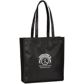 Monogrammed Large Gusseted Event Tote Bag