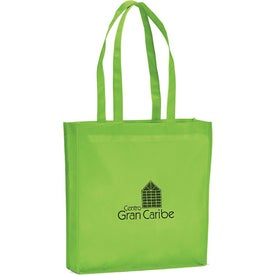 Branded Large Gusseted Event Tote Bag