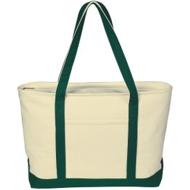 Large Heavy Cotton Canvas Boat Tote Bag Giveaways