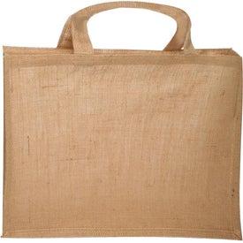 Large Jute Fiber Tote Bag